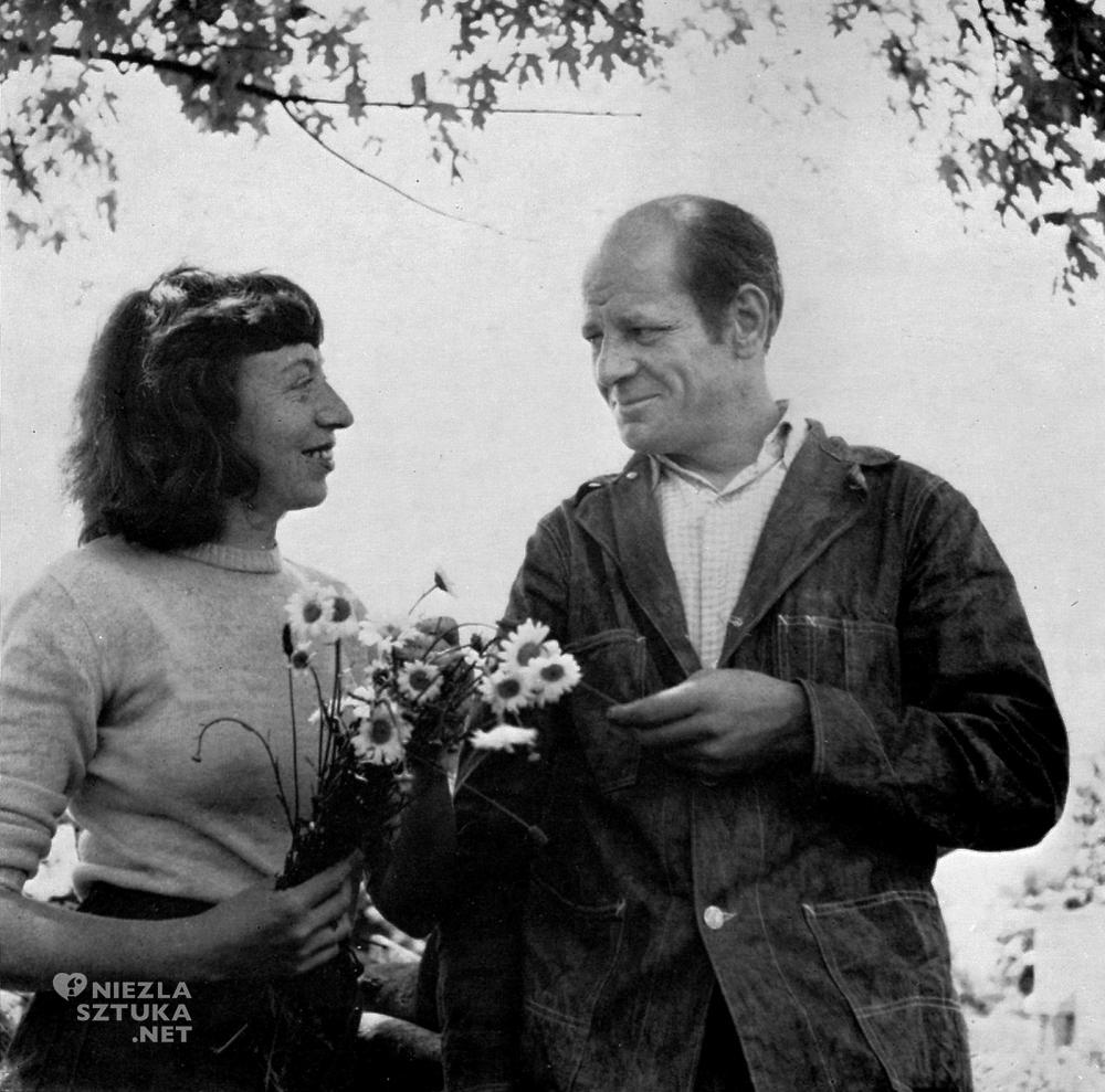 Lee Krasner i Jackson Pollock