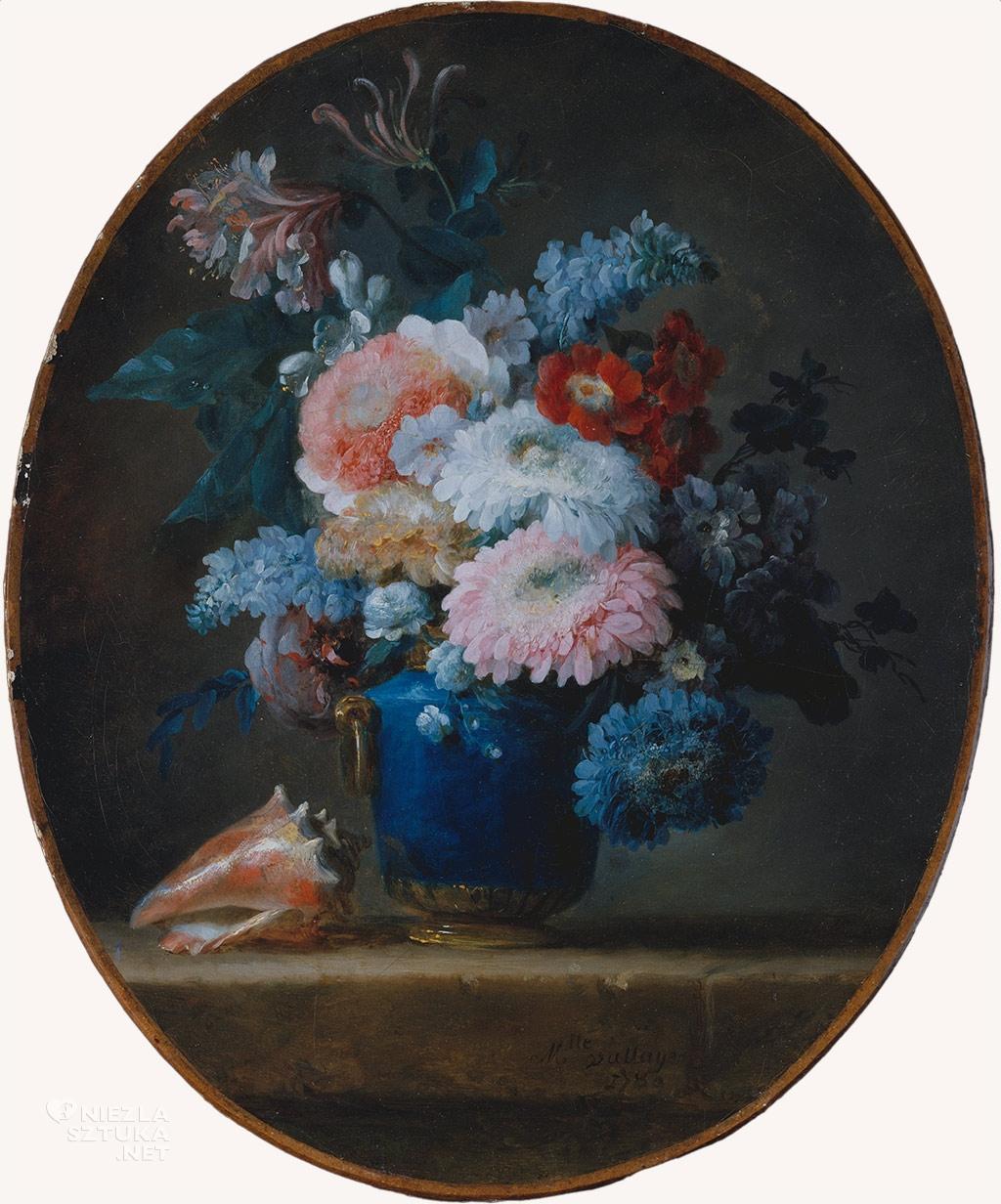 Anne Vallayer-Coster Waza z kwiatami i muszlą | 1780, MET