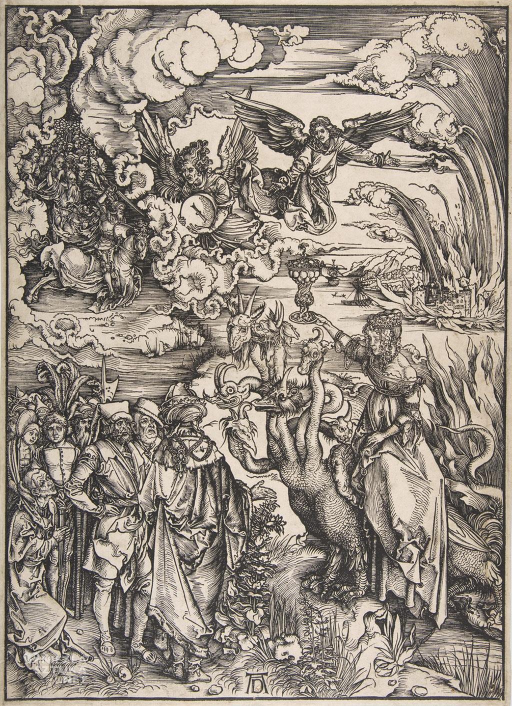 Albrecht Durer Nierządnica babilońska | 1498, MET