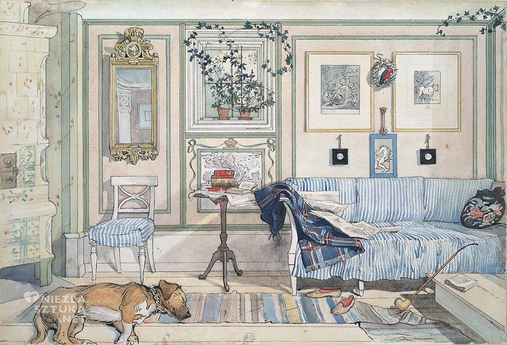 Carl Larsson, Przytulny kącik