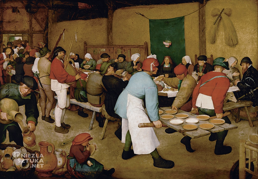 Pieter Bruegel Starszy Wesele chłopskie