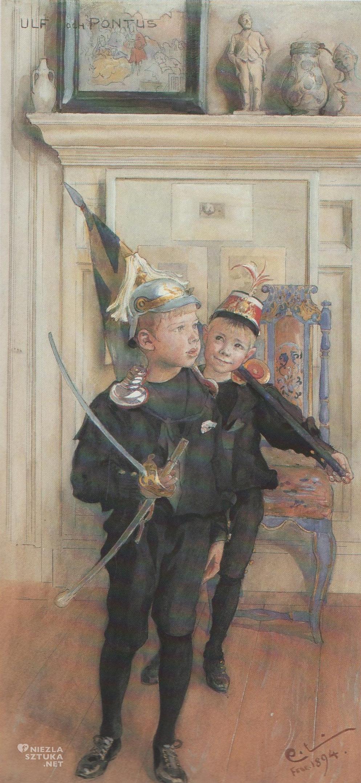 Carl Larsson, Ulf i Pontus, 1894