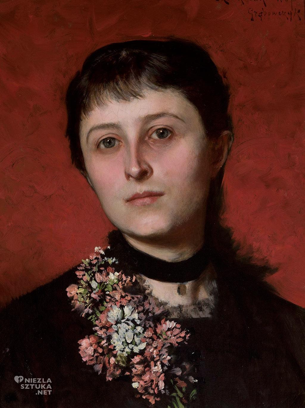 Portret Marii z Popielów Godlewskiej Władysław Czachórski