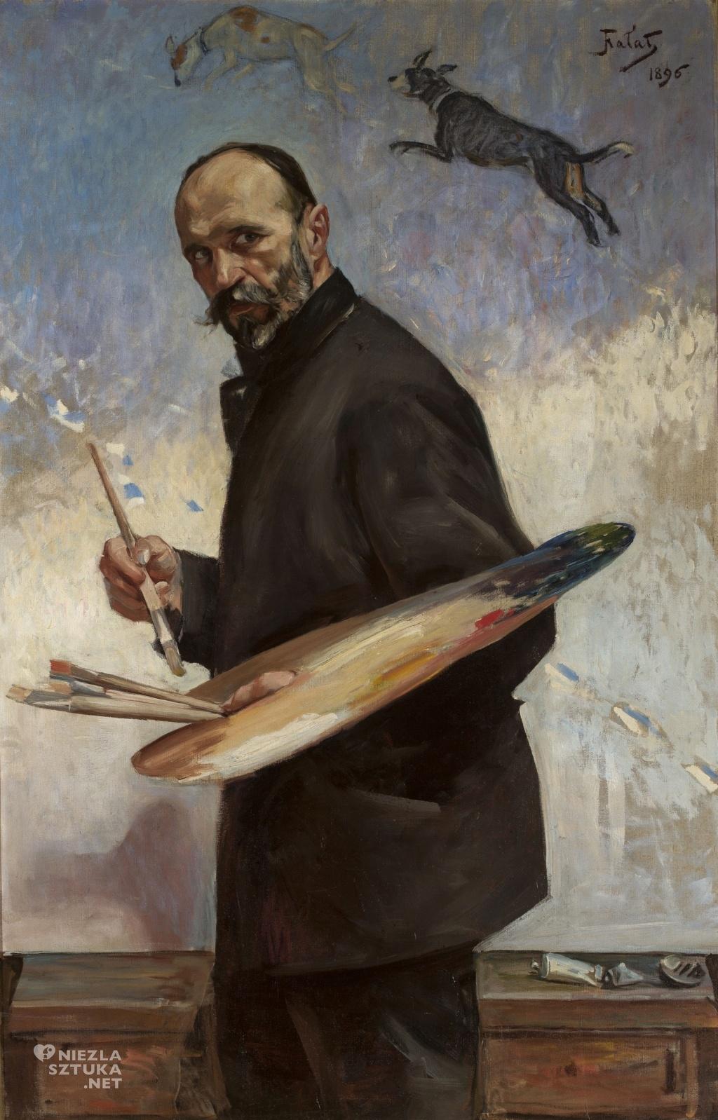 Julian Fałat, Autoportret | 1896, MNW