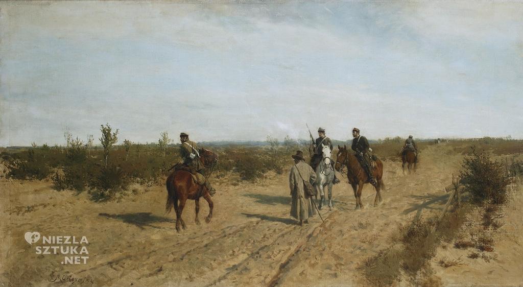 Maksymilian Gierymski Patrol powstańczy ok. 1873