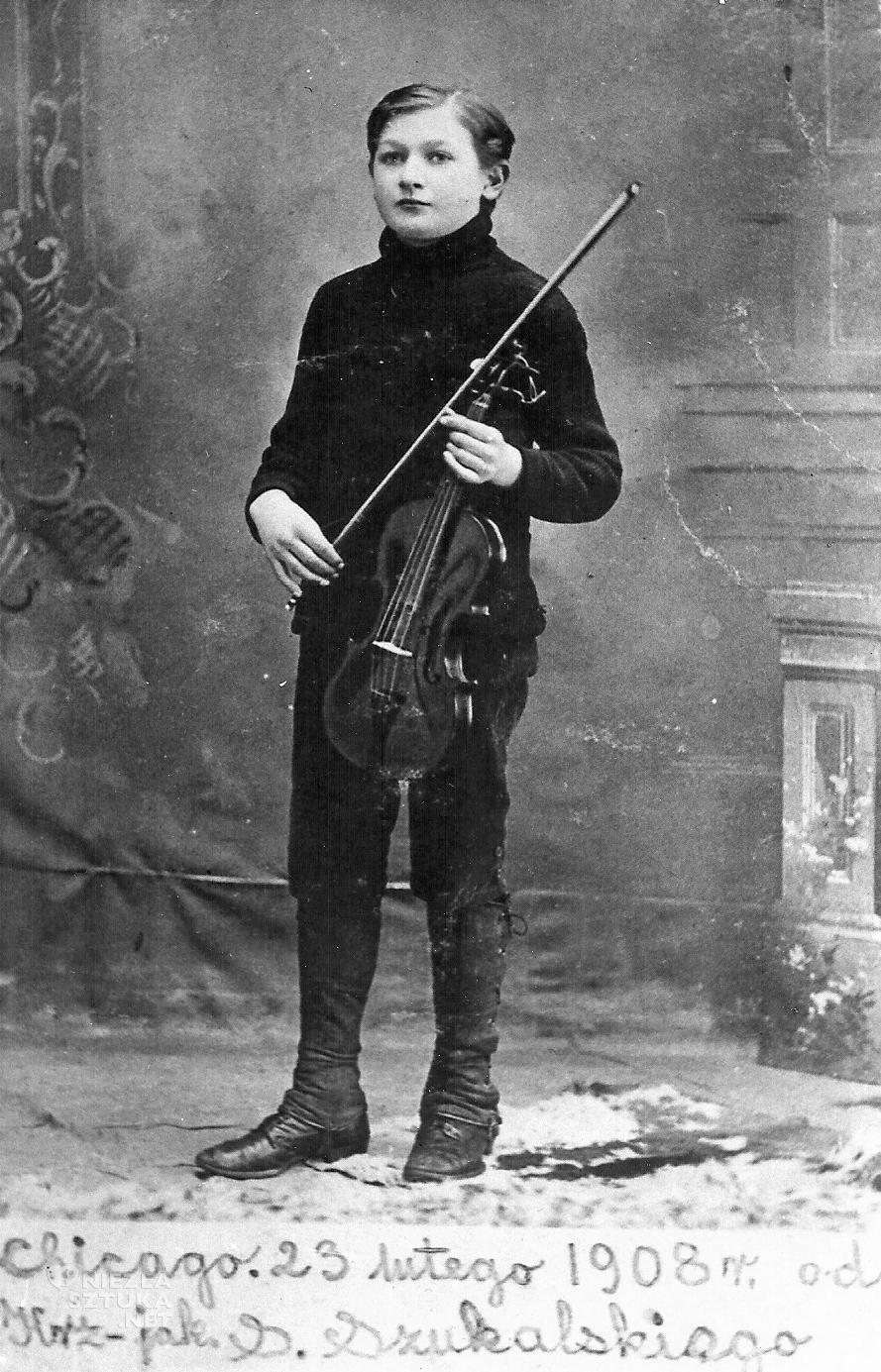 Stanisław Szukalski, Chicago 1908, ze zb. Muzeum Miasta i Rzeki Warty PTTK