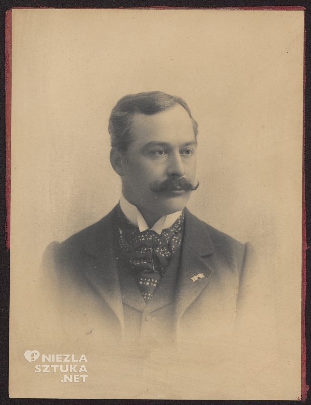 Portret Wojciecha Kossaka | ok.1895, fot. www.cyfrowe.mnw.art.pl