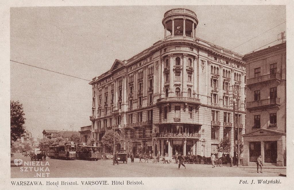 Hotel Bristol w latach 30-tych