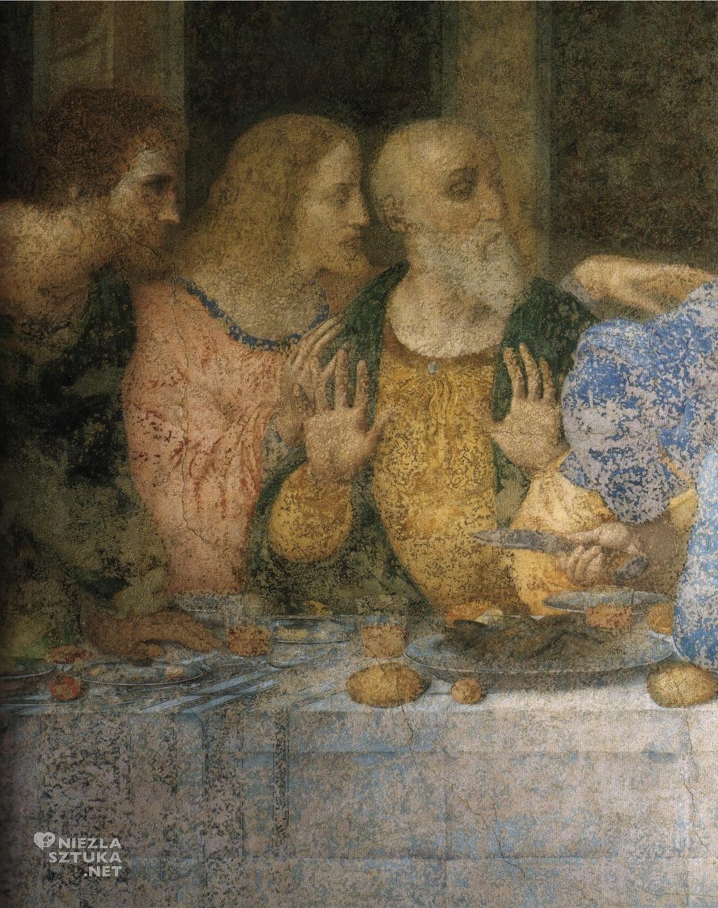 Fragment fresku po renowacji dzieła w 1999 roku