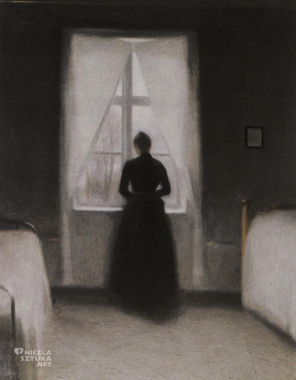 Vilhelm Hammershøi, Sypialnia, 1890