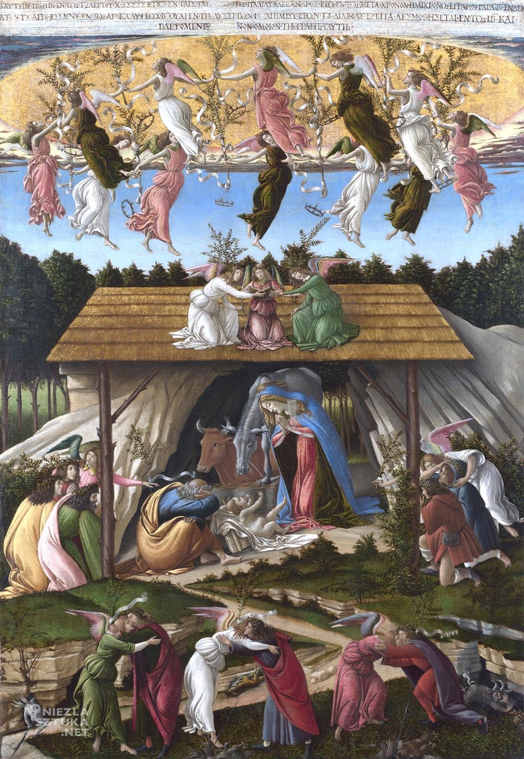 Sandro Botticelli Mistyczne Narodziny 1500