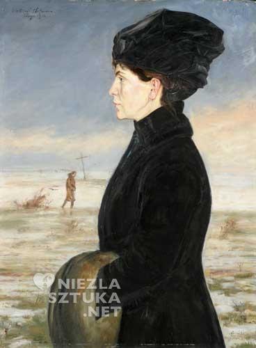 Wlastimil Hofman Portret żony | 1916, Muzeum Narodowe we Wrocławiu