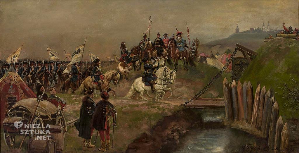 Wojciech Kossak, <em>Defilada wojsk austriackich przed Janem Sobieskim</em>, 1898, Muzeum Narodowe w Warszawie