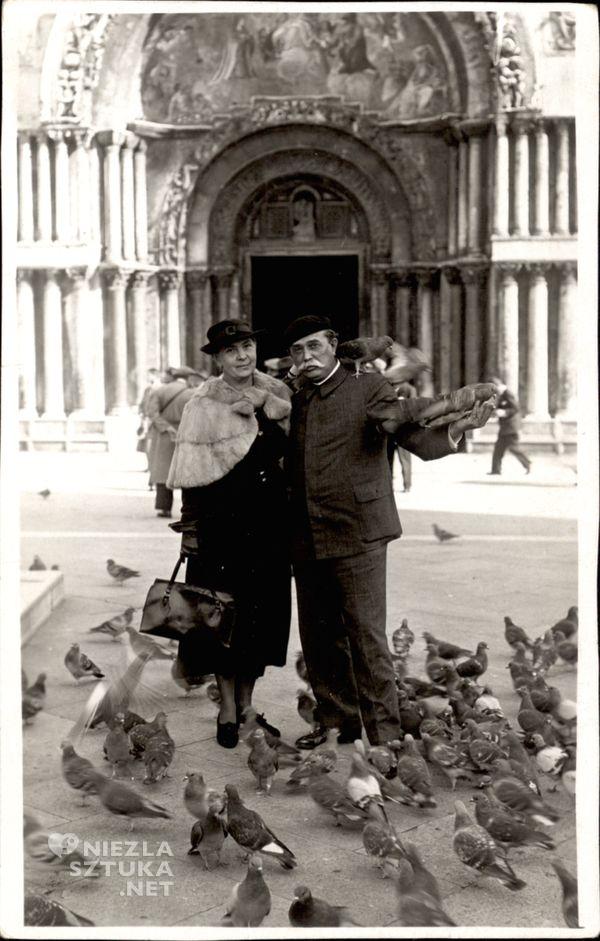 Wlastimil i Ada Hofmanowie w Wenecji | 1935 r., fot. fot. Muzeum Karkonoskie w Jeleniej Górze