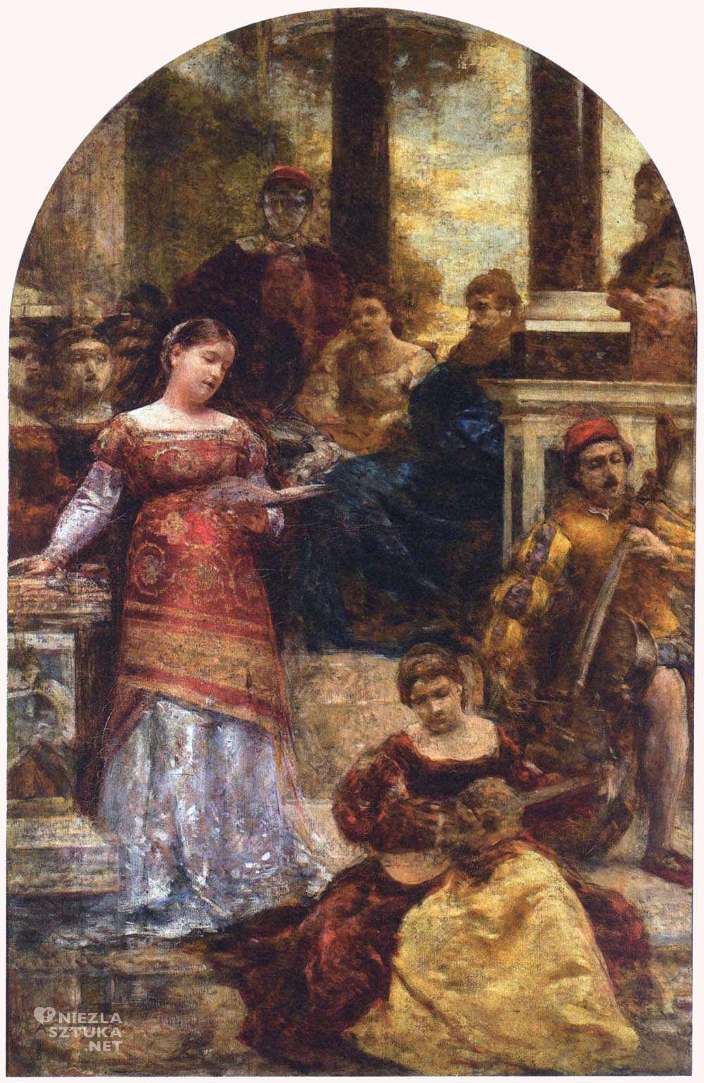 Aleksander Gierymski Siesta włoska II po 1876, Muzeum Narodowe w Warszawie