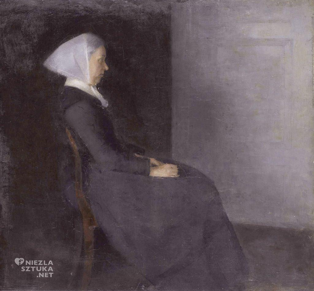 Vilhelm HammershøiMatka artysty Frederikke Hammershøi