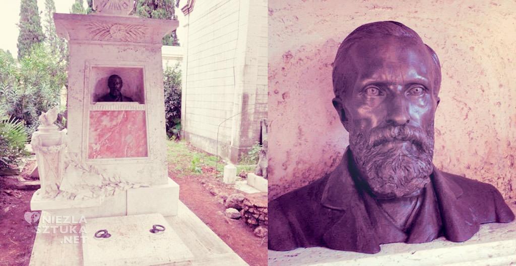 Grób Aleksandra Gierymskiego na Campo Verano