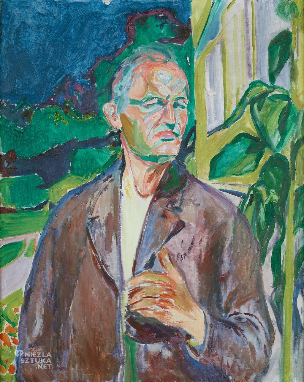 Edvard Munch Autoportret 1926