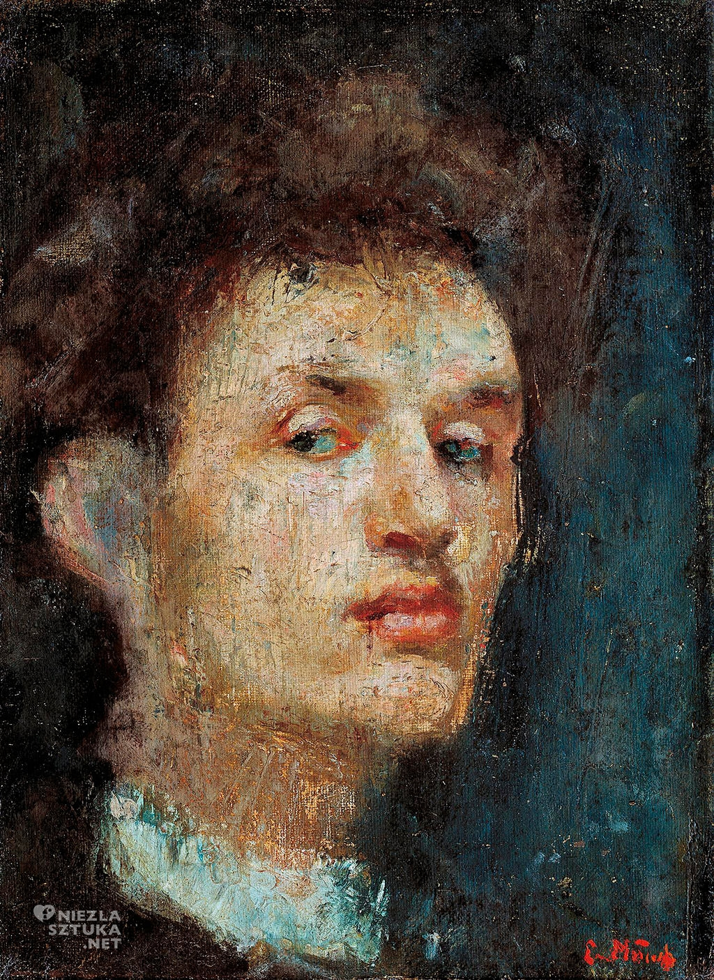 Edvard Munch Autoportret | 1886, Munch Museum, Oslo