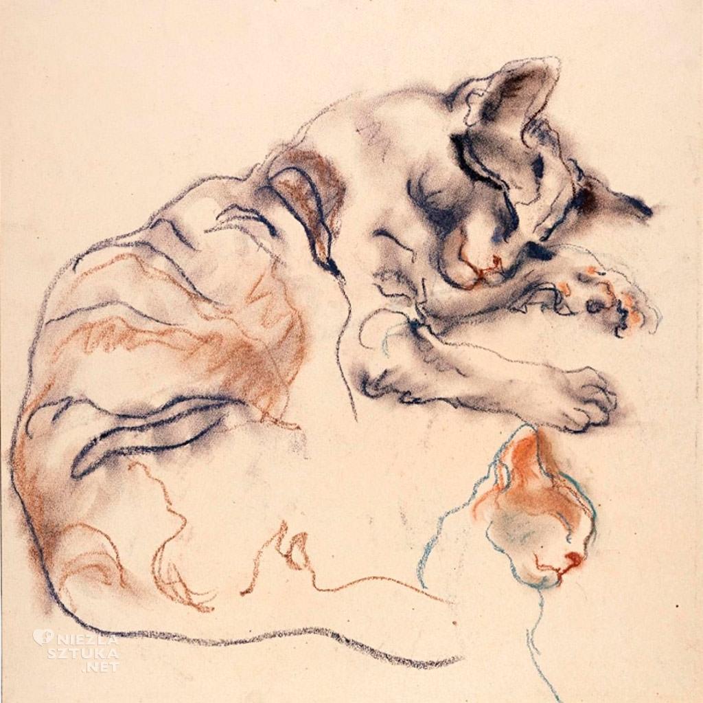 Elfriede Lohse-Wächtler , Kot, fot. http://www.museen-boettcherstrasse.de/