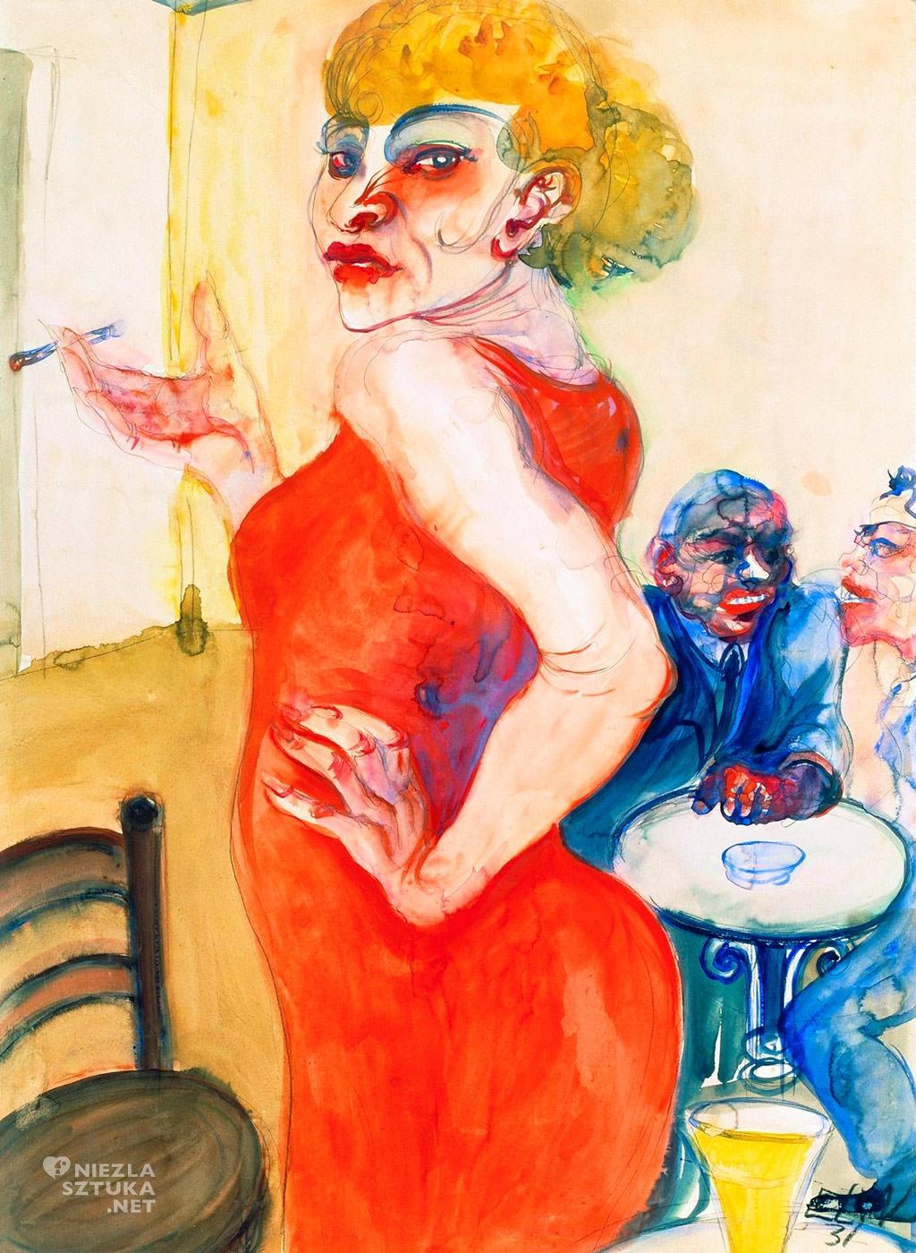 Elfriede Lohse-Wächtler, Lizzy, fot. http://www.museen-boettcherstrasse.de/