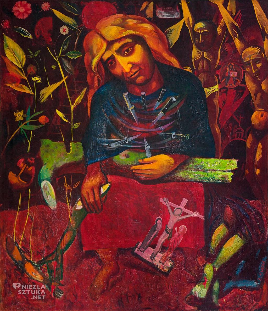 Eugeniusz Mucha Pieta | 1959-75, Muzeum Sztuki Współczesnej w Radomiu