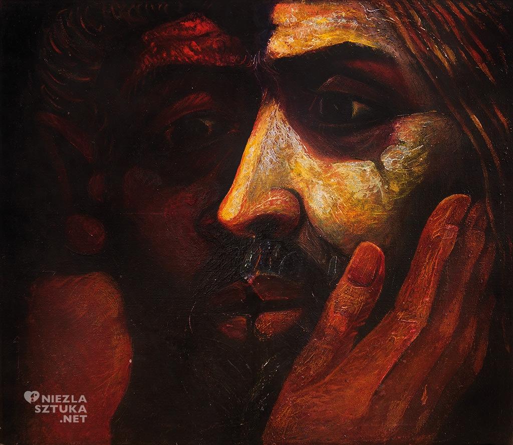 Eugeniusz Mucha Pocałunek Judasza | 1978, Muzeum Sztuki Współczesnej w Radomiu