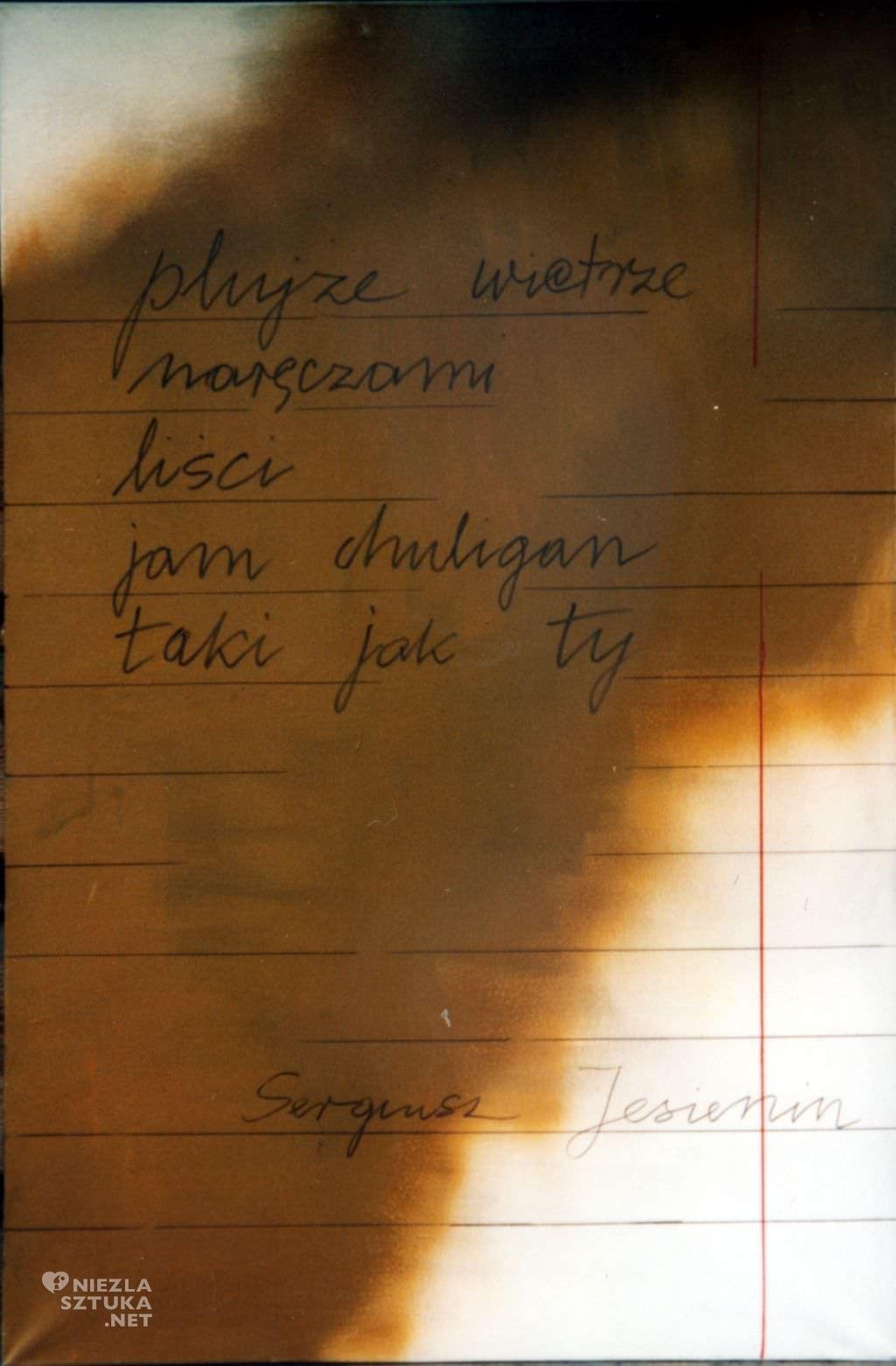 Maria Stangret Hommage a Jesienin