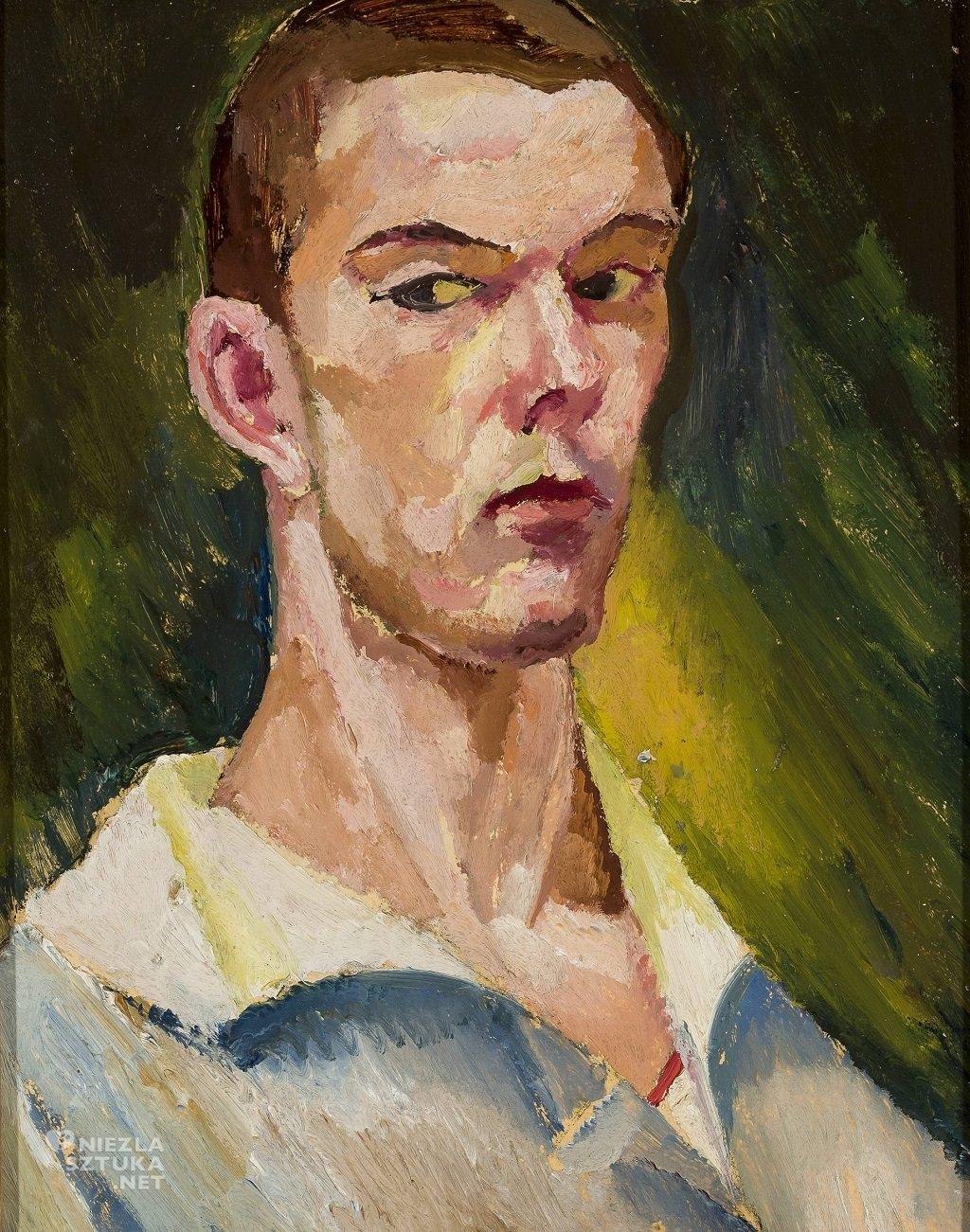 Zygmunt Waliszewski, Autoportret kubizujący | 1914-18, Muzeum Narodowe w Warszawie