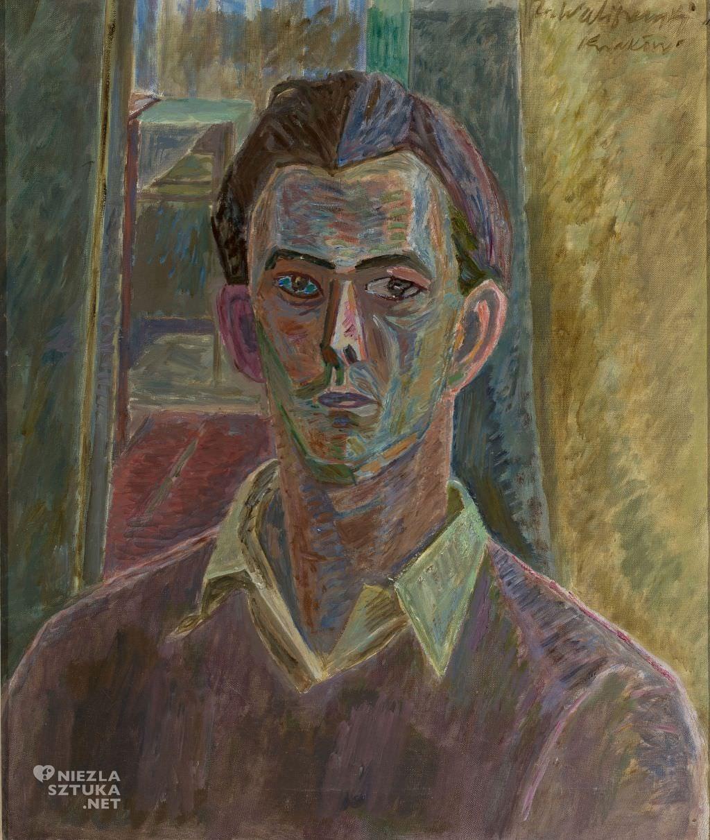 Zygmunt Waliszewski, Autoportret, ok. 1936, Muzeum Narodowe w Warszawie