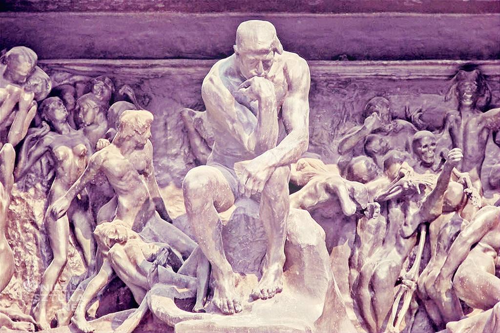 Auguste Rodin Wrota piekieł