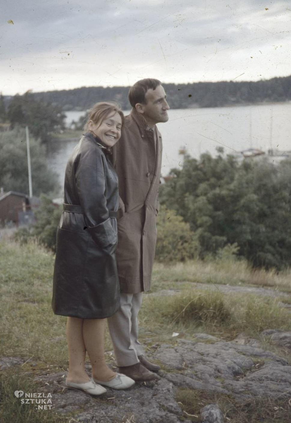 Tadeusz Kantor i Maria Stangret, fot. © Maria Stangret oraz Dorota Krakowska, źródło: culture.pl