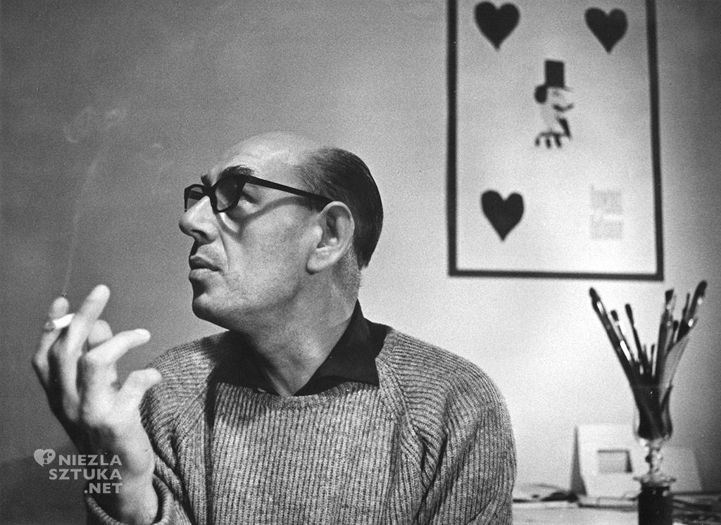 Henryk Tomaszewski, 1962, fot. A. Paszkowski, dzięki uprzejmości Filipa Pągowskiego, syna artysty