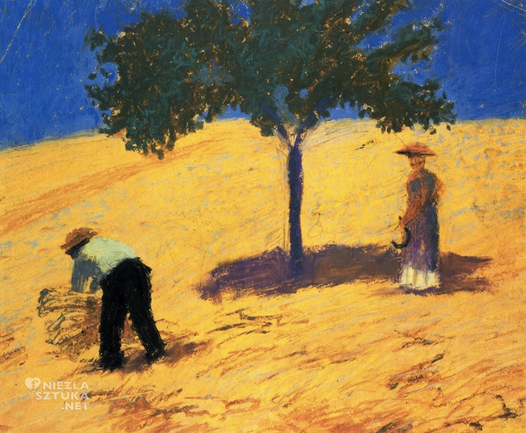 August Macke-drzewo na polu