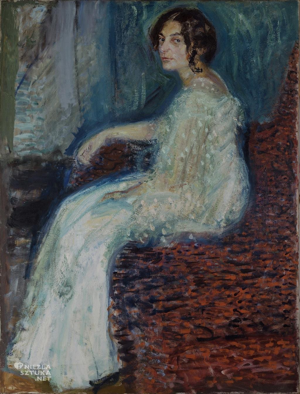 Richard Gerstl Portret Henryki Cohn, 1908, Leopold Museum
