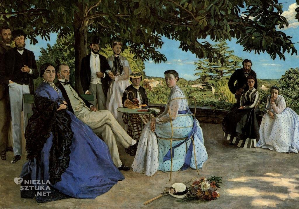 Frédéric Bazille, Zebranie rodzinne | 1867