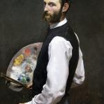Frédéric Bazille, Autoportret | 1865-1866