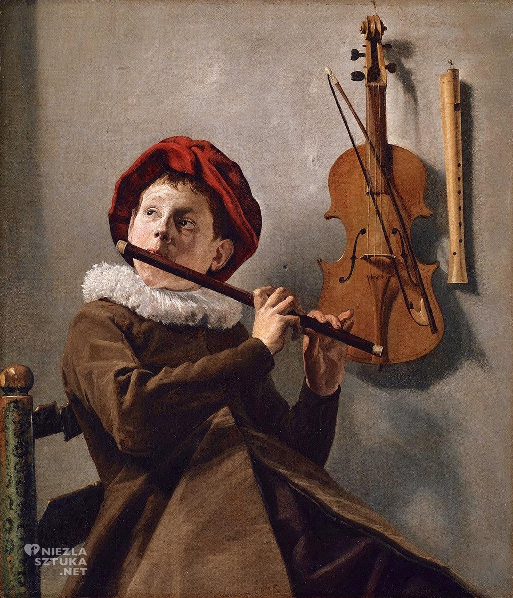 Judith Leyster Chłopiec grający na flecie | 1830, Nationalmuseum Szwecja