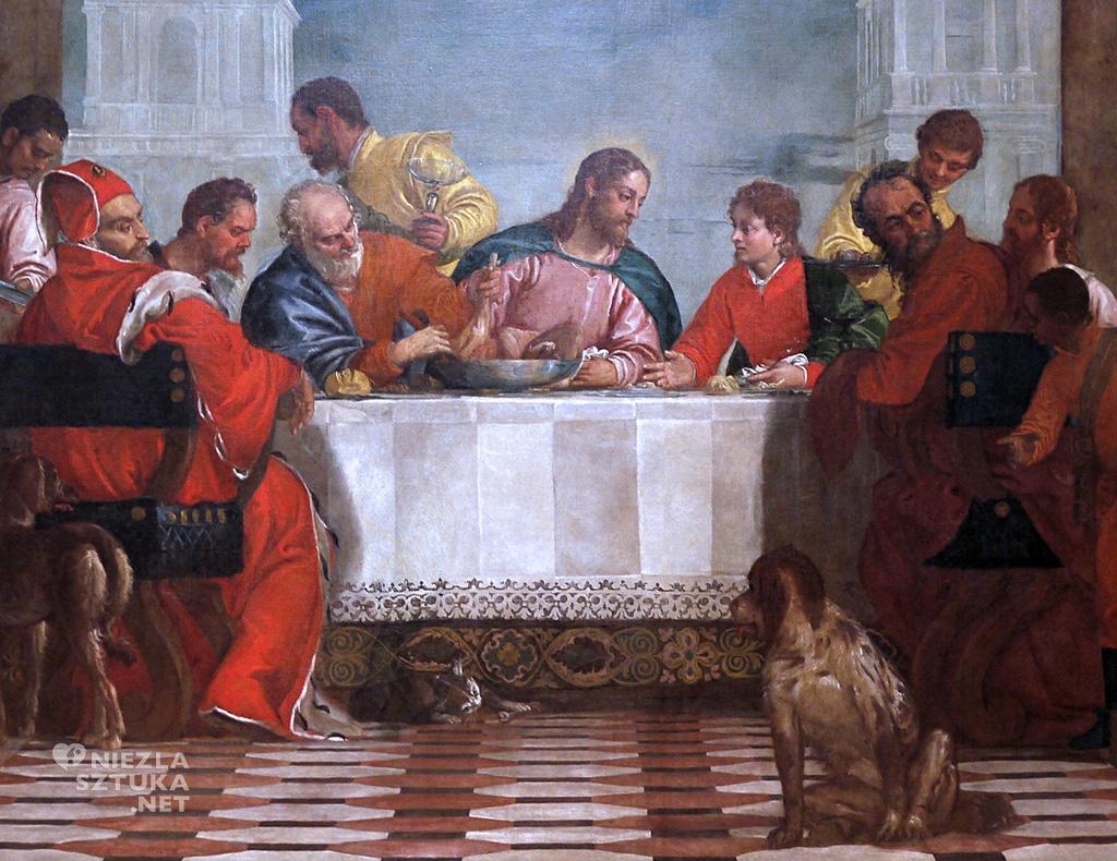 Paolo Veronese <em>Uczta w domu Lewiego</em> | 1573, Galleria dell' Accademia, Wenecja