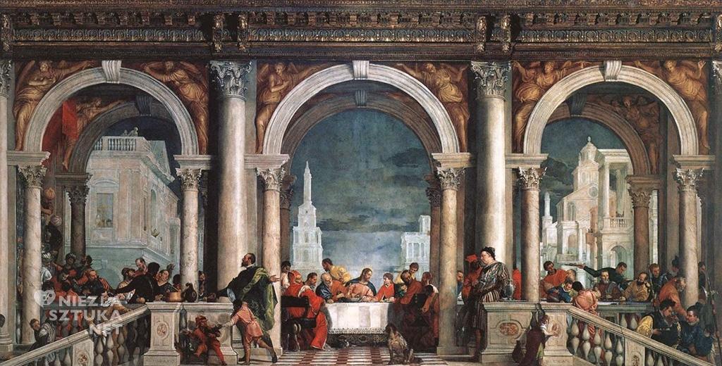 Paolo Veronese <em>Uczta w domu Lewiego</em> | 1573