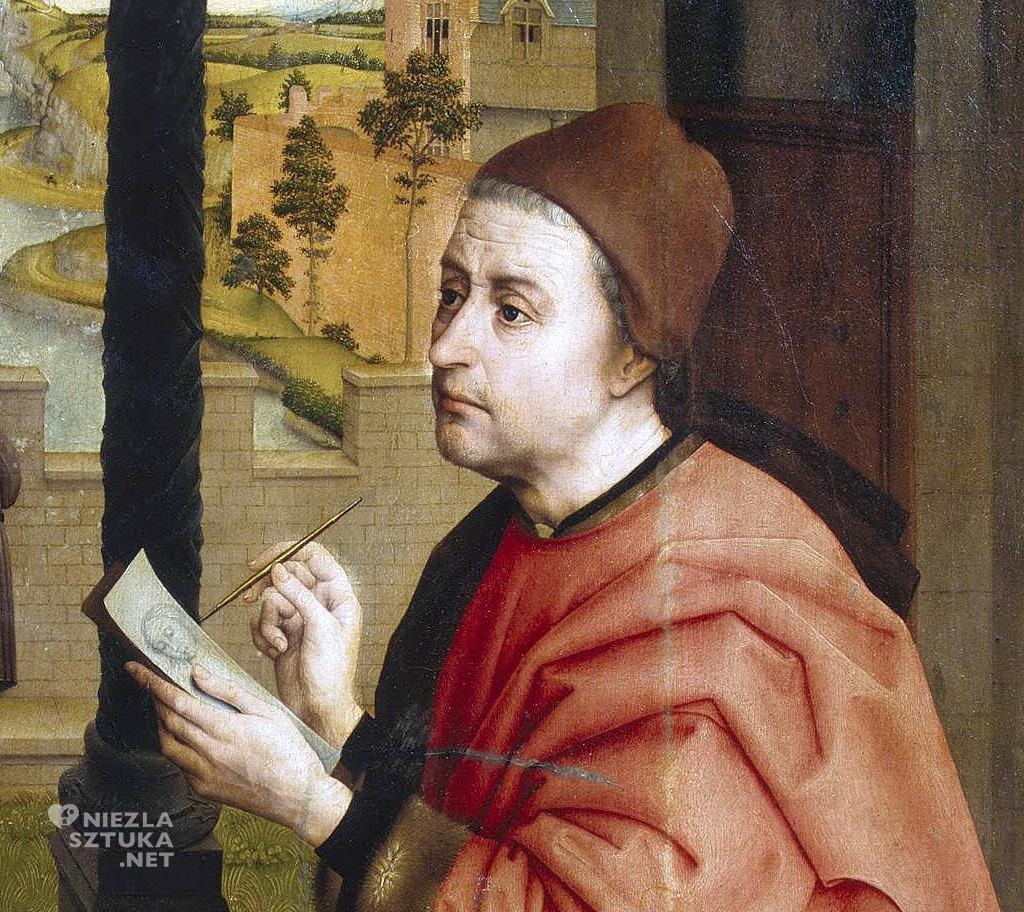 Rogier van der Weyden Św. Łukasz rysujący portret Madonny