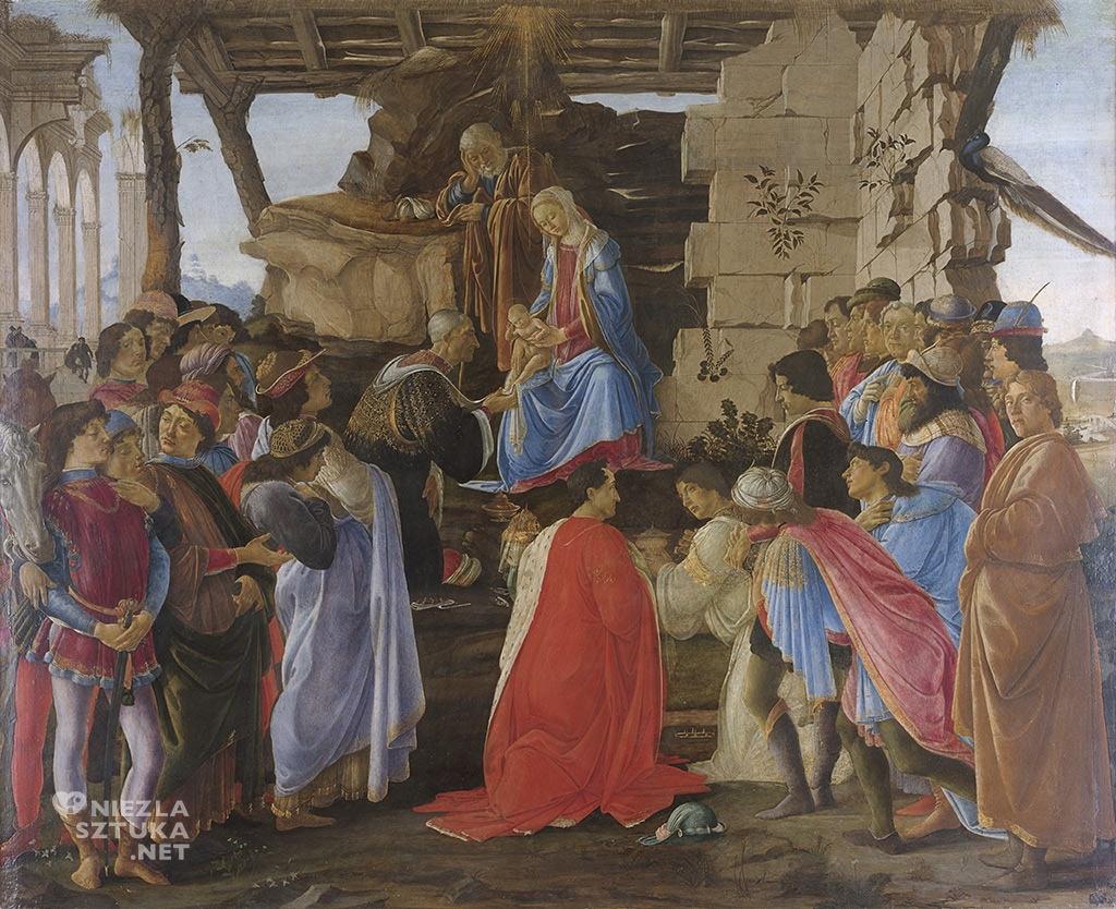Sandro Botticelli Pokłon Trzech Króli