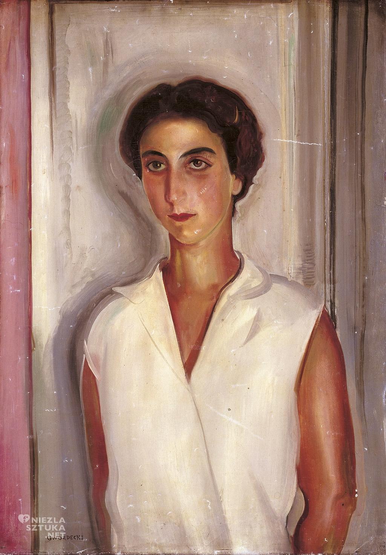 Gustaw Gwozdecki Portret kobiety