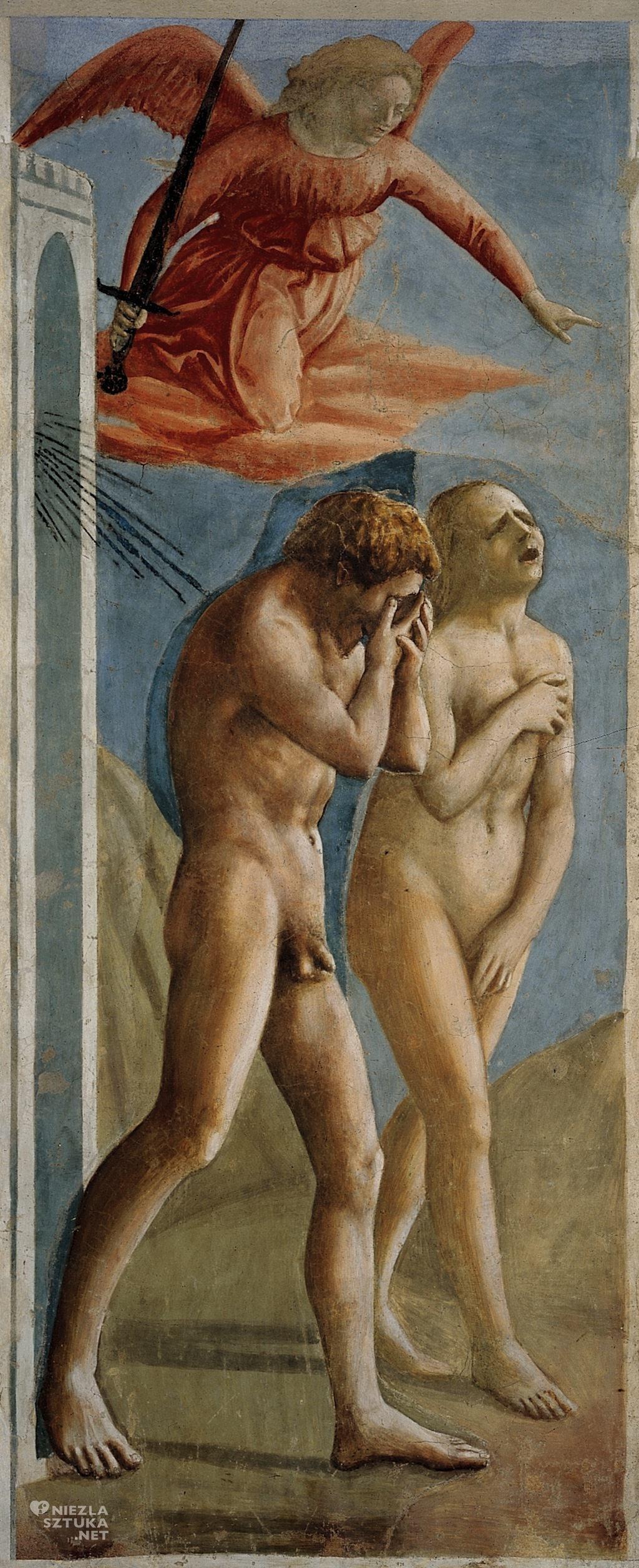 Masaccio Wygnanie z Raju