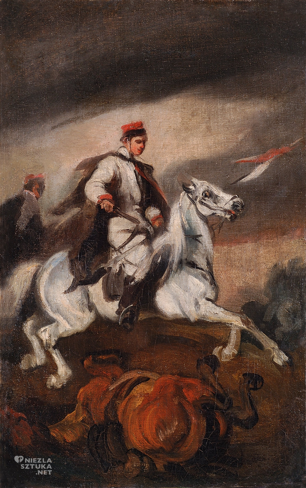 Piotr Michałowski, Krakus na koniu