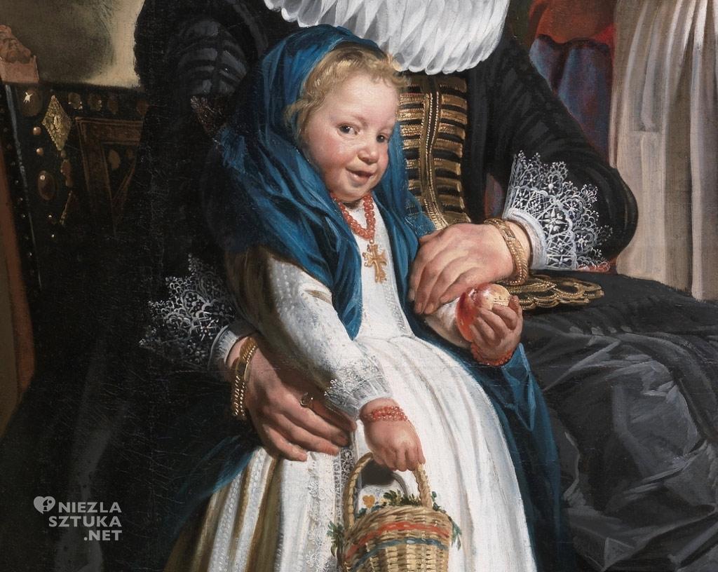 Jacob Jordaens Autoportret artysty z rodziną, amulety w sztuce