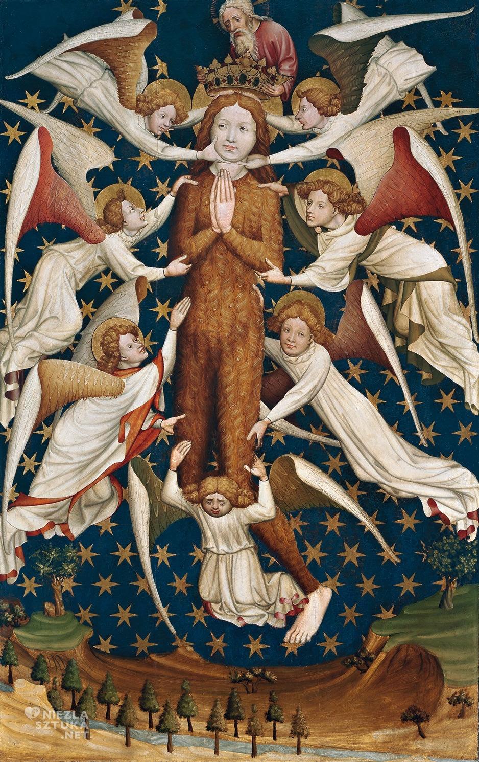 Maria Magdalena unoszona przez anioły mnw Dyptyk fundacji rodziny Winterfeldów