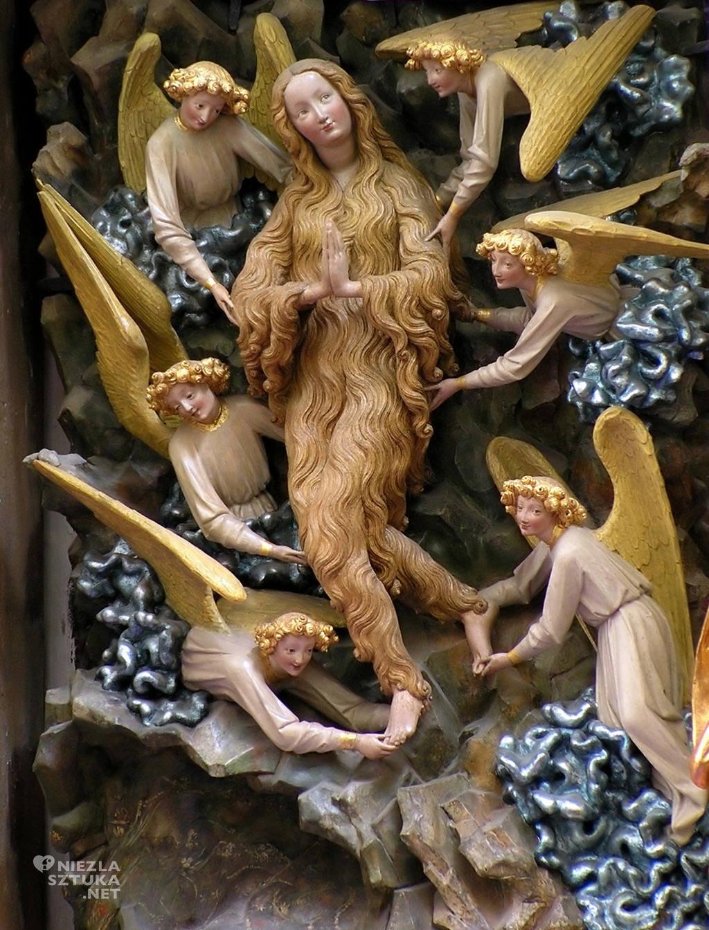 Torun_Maria Magdalena unoszona przez anioły