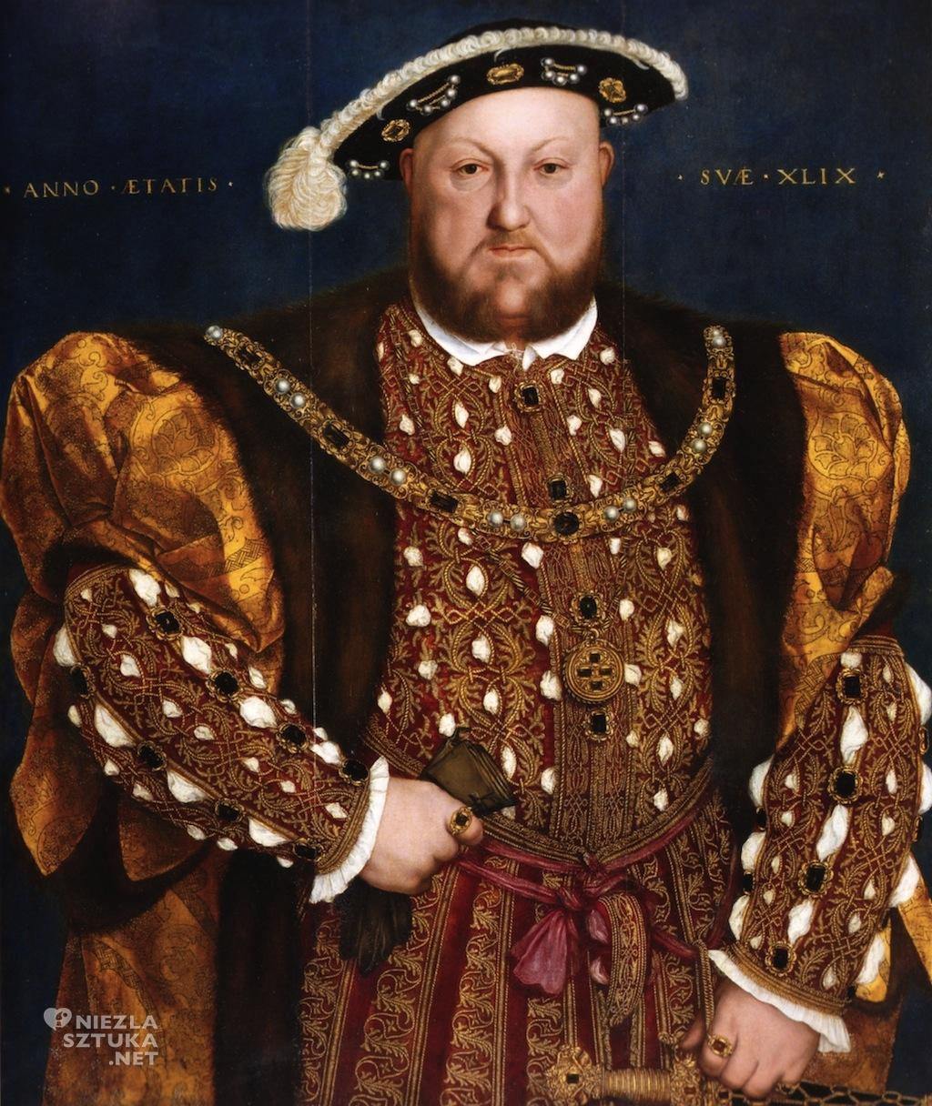 Hans Holbein Młodszy Portret Henryka VIII Galleria Nazionale d'Arte Antica di Palazzo Barberini, Rzym