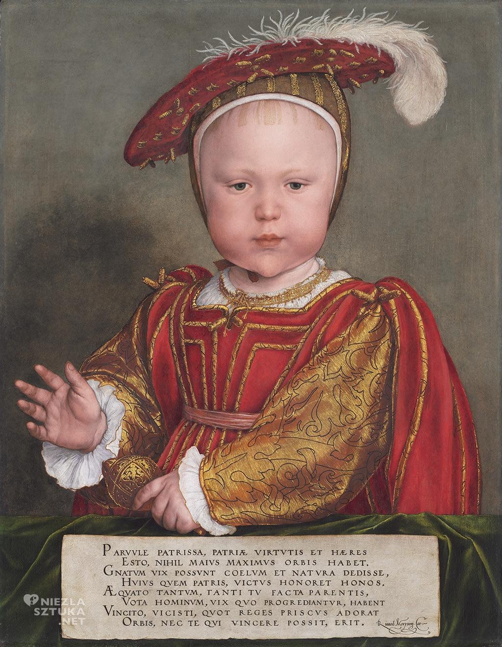 Hans Holbein Młodszy Edward VI jako dziecko